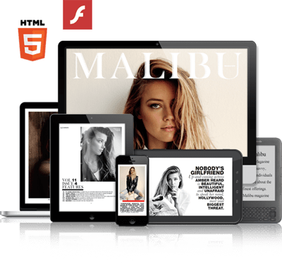 flash and HTML5 digital flipbooks