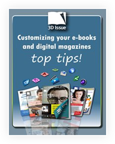 3D Issue ebook customization