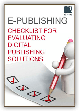 checklist evaluating digital publishing solutions