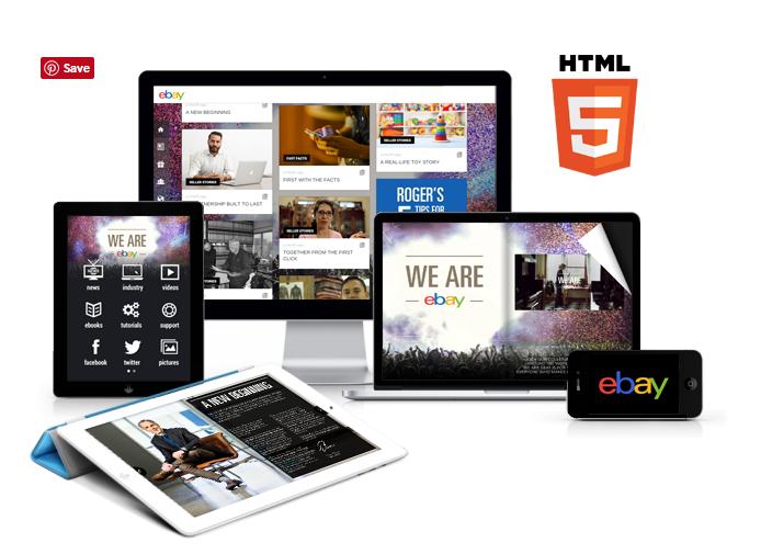 3D Issue Digital Publishing Suite funciona en gran variedad de dispositivos