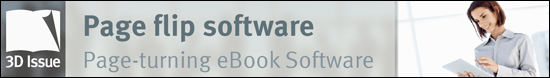 Page turning eBook software