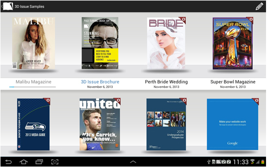 Magazine App Development